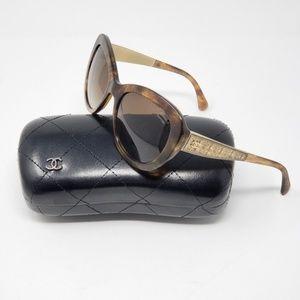 Chanel Women's Tortoise 5346 Sunglasses Polarized